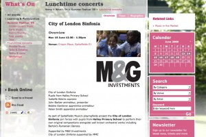 Spitalfields Music | City of London Sinfonia | Lunchtime concerts | Summer Festival _09